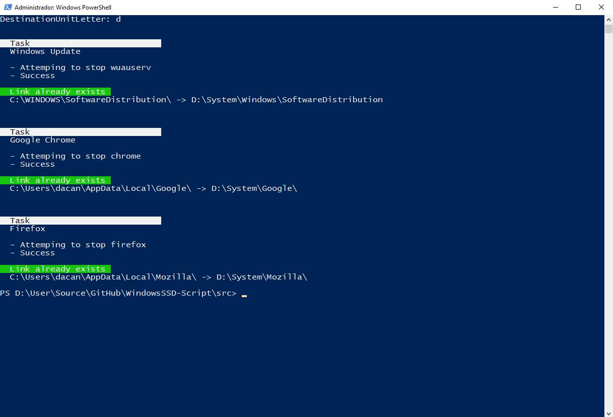 WindowsSSD-Script