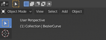 Blender Convert Bezier Curve to mesh